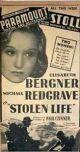 Stolen Life (1939) DVD-R
