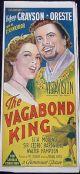 The Vagabond King (1956) DVD-R